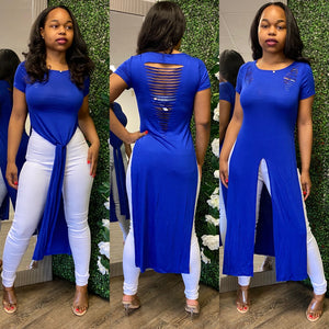 She In Chic II - Royal Blue