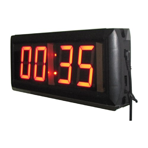 Ledgital Countdown Clock For Conference Countdown Timing Minutes Seconds  Countdown Timer 12X4In  W/Remote Control
