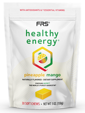 Load image into Gallery viewer, FRS Healthy Energy Pineapple Mango Soft Chews 30 count