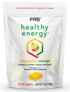 FRS Healthy Energy Pineapple Mango Soft Chews 30 count