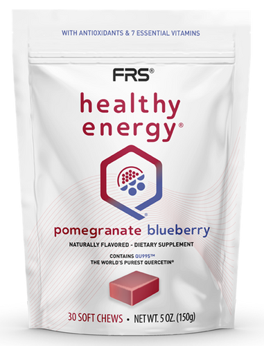 FRS Healthy Energy Pomegranate Blueberry Soft Chews 30 count - - - - BE MORE®