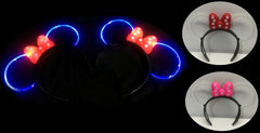 *New Hot Selling Item*Light Up Bow Headband(Pack of 144 - Works Out £1.25 Each inc Vat)