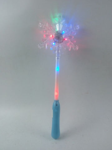 **NEW**Snowflake Wand - multi coloured(Pack of 72 - works out £1.30 each)