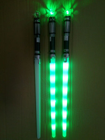 Light Up Ball Sword with Flashing LED Disco Ball(Mixed Colours) - Pack of 144 (£1.25 per sword)