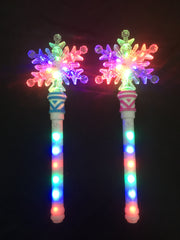 **New Hot Seller**snowflake wand - multi colour (Pack of 72 - works out £1.85 each)