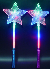 Flashing Star Wand - Multi Colour(Pack of 72 - works out £1.35 each)