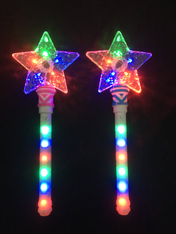 **New Hot Seller**star wand - multi colour (Pack of 72 - works out £1.85 each)