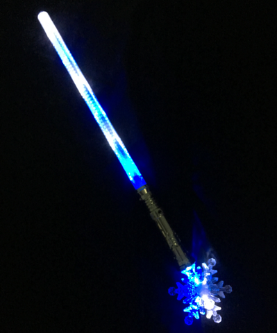 **Big New Line** Large Snowflake Sword - Blue & White(Pack of 48 - works out £2.50 each)