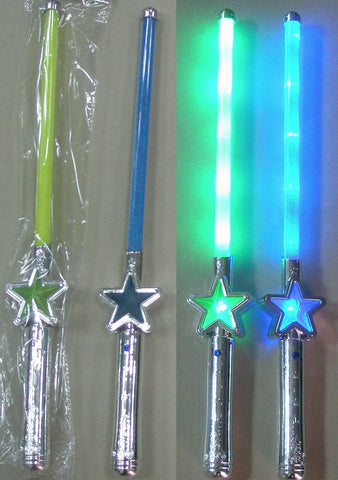 **CLEARANCE**Flashing Star Wand Pack of 144 (Works out £0.80 each)NO RETURNS