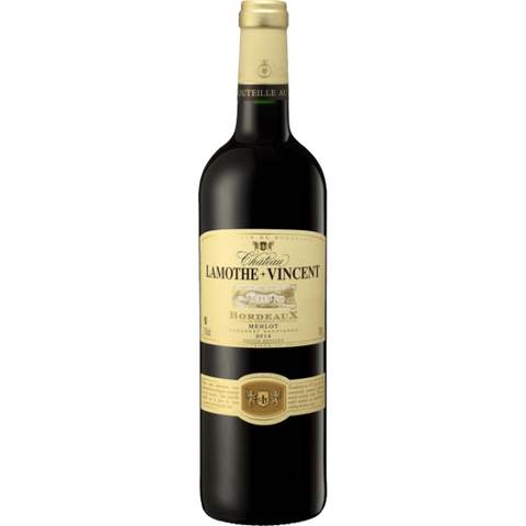 Chateau Lamothe Vincent, Merlot , 2015, Bordeaux. From €12/btl
