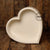 Littolo Cute  Handmade Wooden Heart  bowl For Newborn Posing Photography Props Perfect for Newborn Props(White)