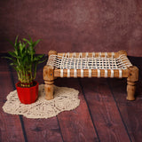 Littolo Newborn Charpai(Khatli) Vintage Bed for Posing