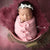 Littolo New Born Baby Layer-Rabbit Fur Layer-Layer For New Born Baby Photography(Rose wood)