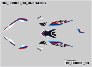 BMW F800GS - Uniracing