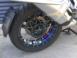 BMW R1200GS Adv. LC 06-18 and R1250GS 19 Adv. Rim Decoration - Uniracing