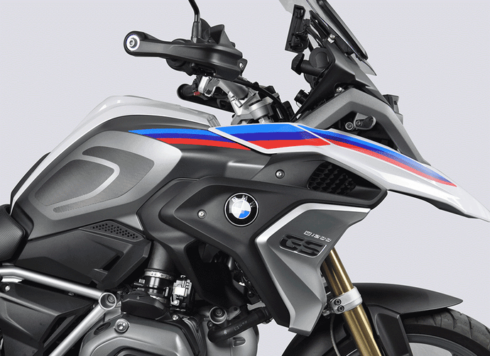 BMW R 1200 GS 17-18 and BMW R 1250 GS 19 Decal kit - Uniracing