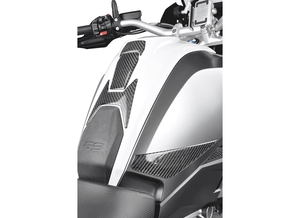 Real carbon fiber tank pad kit for BMW R1200GS 17-18 and BMW R1250GS '19 - Uniracing