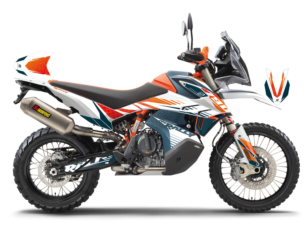 Decoration and Protrection kit for KTM 790 Adventure R Rally 2018-19 - Uniracing
