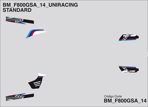 Recambio BMW F800 GS Adventure - Uniracing