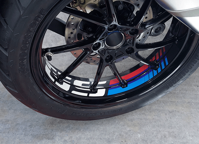 BMW R1200GS LC 13-18 and R1250GS '19 Rim Decoration - Uniracing
