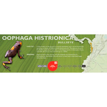 Load image into Gallery viewer, Oophaga histrionica - Standard Vivarium Label