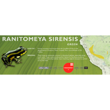 Load image into Gallery viewer, Ranitomeya sirensis - Standard Vivarium Label