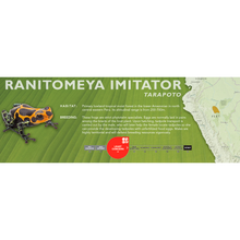 Load image into Gallery viewer, Ranitomeya imitator - Standard Vivarium Label