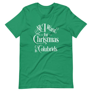 All I Want for Christmas is Colubrids Short-Sleeve Unisex T-Shirt