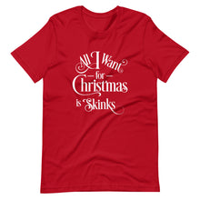 Load image into Gallery viewer, All I Want for Christmas is Skinks Short-Sleeve Unisex T-Shirt