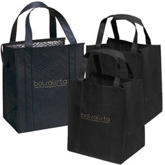 Smartkit - Set of Reusable Grocery Bags with Insulated Carrier