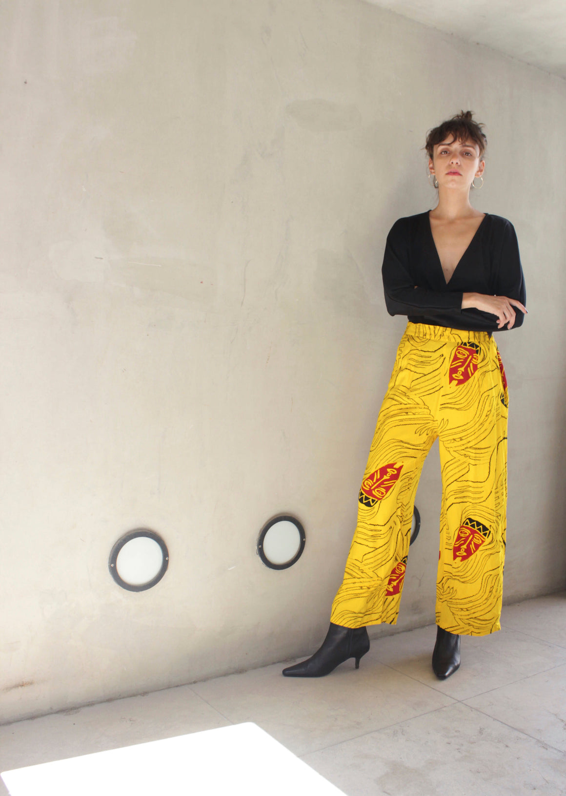 Cool Graphic Printed Trousers