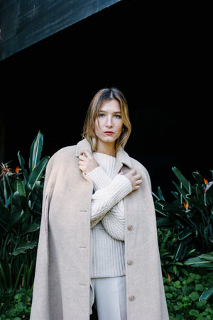 Pendelton Cream Wool Cape