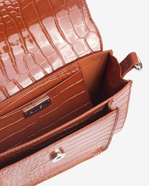 Cayman Chestnut Pocket Bag