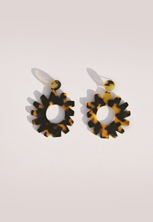 Girasol Tortoiseshell Earrings
