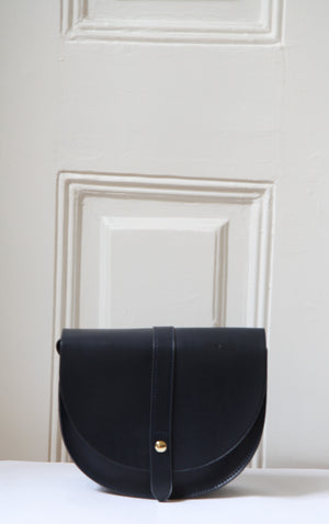 Lou Navy Satchel