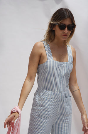 Sailor Stripe Jumpsuit