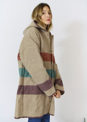 Hooded Woolrich Classic Coat