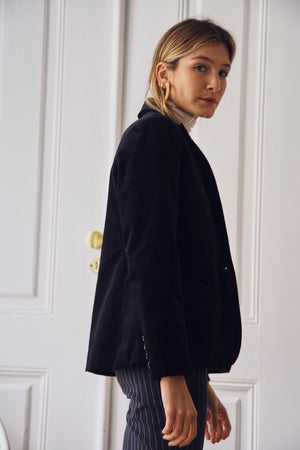 Susan Corduroy Midnight Jacket