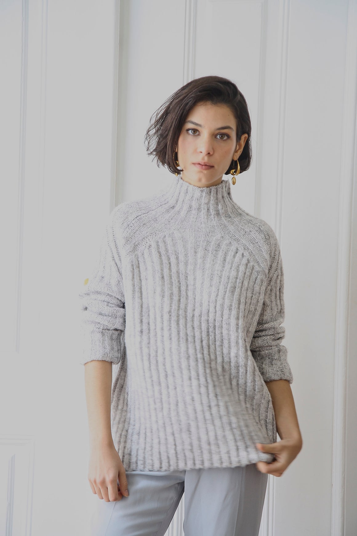 Manon Grey Jumper