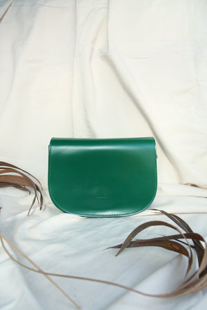 Green Minimal Satchel