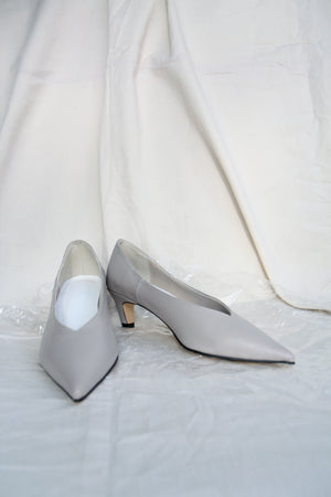 Pale Grey Pointed Courts