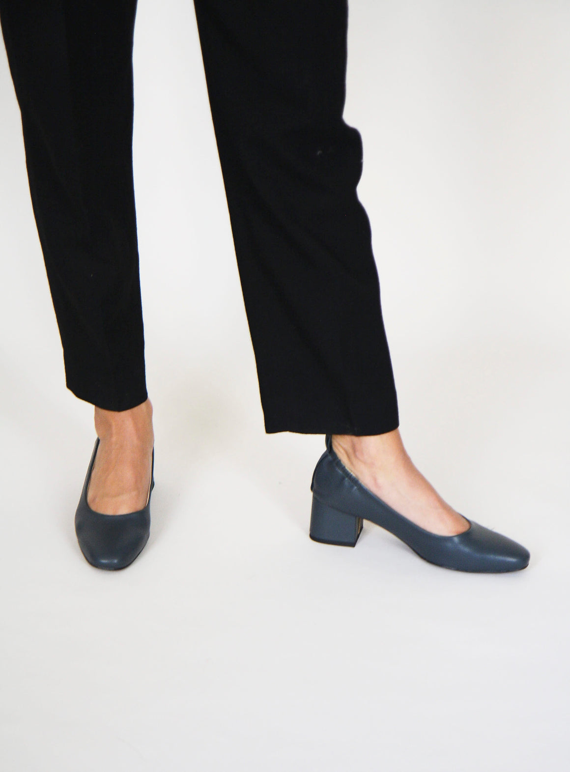 Pewter Square Toe Courts