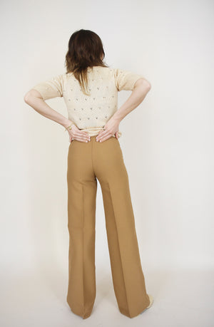 Cool Camel Tailored Trousers