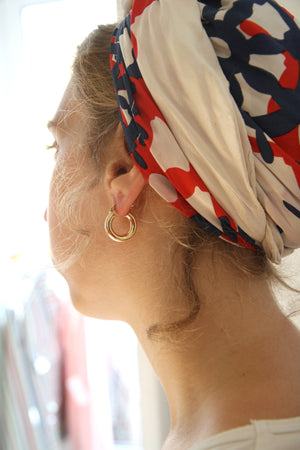 Ninon Mini Gold Hoops