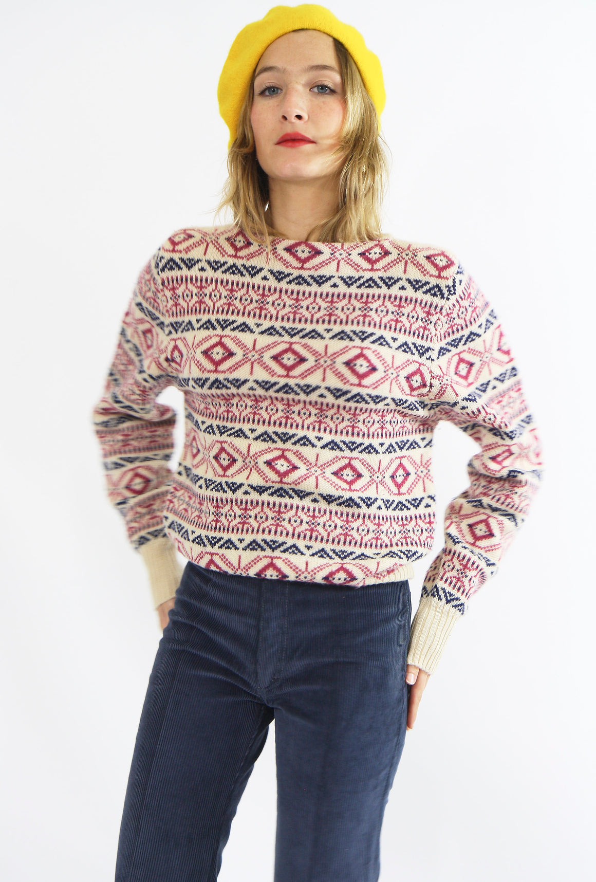 Pretty 70s Wool Jumper