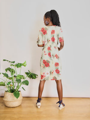 Hibiscus Summer Dress