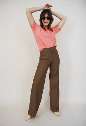 Vintage Chocolate 70s Pants