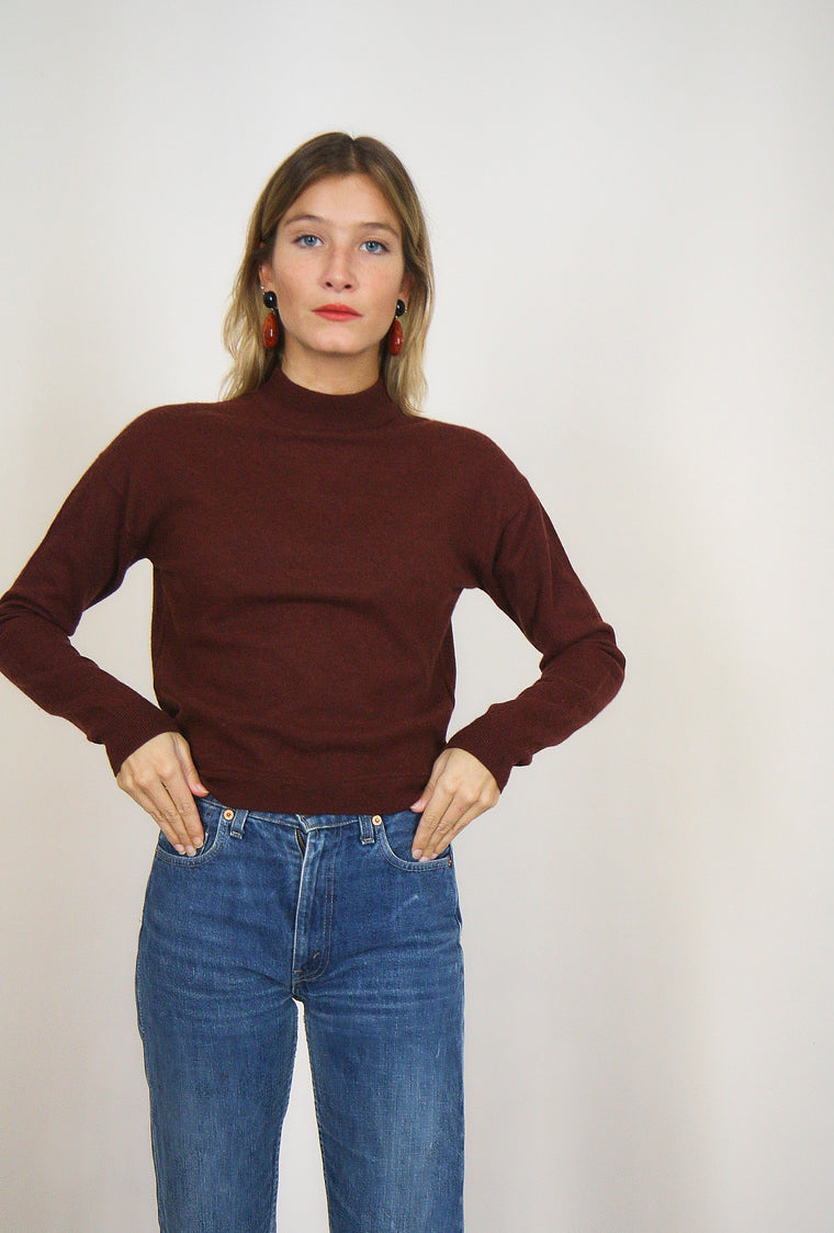 Toffee Fine Knit Jumper