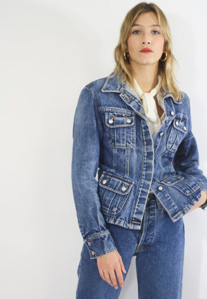90s Fitted Denim Jacket