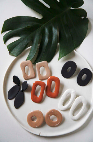 Taylor Ceramic Earrings